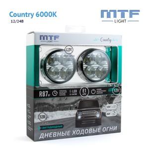 Дневные ходовые огни MTF-Light Country 6000K