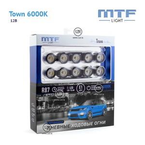 Дневные ходовые огни MTF-Light Town 6000K