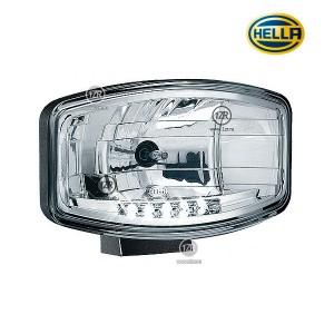 Фара дальнего света Hella Jumbo 320 FF, с габаритным огнем LED (Ref. 37.5)