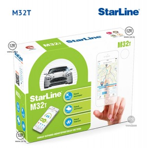 Охранно-мониторинговая система StarLine M32 CAN+LIN T