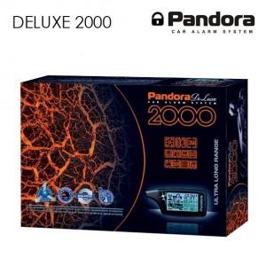 Автосигнализация Pandora DeLuxe 2000