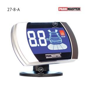 Парктроник ParkMaster 27-8-A (чёрные датчики)