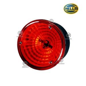 Фонарь задний Hella D122,5, противотуманный, красный (P21W) б/уп.