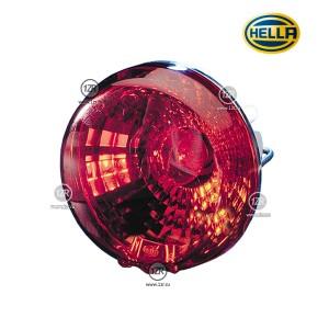 Фонарь заднего хода Hella D90, красный (P21/5W)