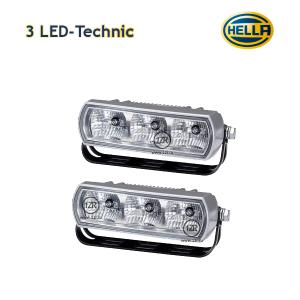 Дневные ходовые огни Hella 3 LED-Technic
