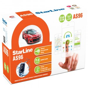 Автосигнализация StarLine AS96 BT 2CAN+2LIN GSM