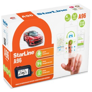 Автосигнализация StarLine A96 2CAN+2LIN GSM GPS