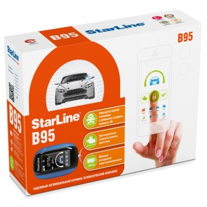 Автосигнализация StarLine B95 BT 2CAN+2LIN GSM GPS