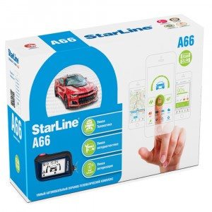 Автосигнализация StarLine A66 2CAN+2LIN