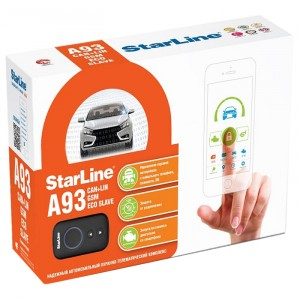 Автосигнализация StarLine A93 2CAN+2LIN GSM ECO Slave
