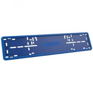 Рамка RCS силиконовая 1 рамка синего цвета