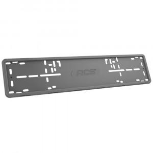 Рамка RCS силиконовая 1 рамка серого цвета