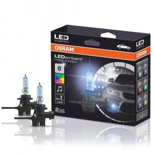Светодиодно-подсвечиваемые галогеновые лампы Osram LEDambient PULSE CONNECT HB3