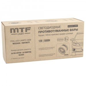 Противотуманные фары MTF-Light FL10NSJ