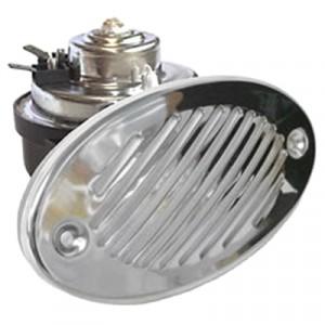 Звуковой сигнал FIAMM AM80SX, 112dB, 12V, 405Hz серебристый