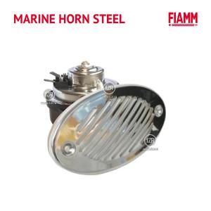 Звуковой сигнал FIAMM MARINE HORN STEEL 112dB, 12V, 405Hz