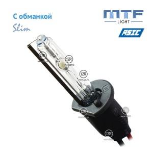 Ксенон MTF-Light Slim Line с доп. проводом и обманками H1 6000K