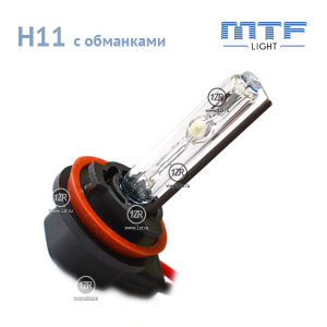 Ксенон MTF-Light 50W с обманкой H8/H9/H11 4300К