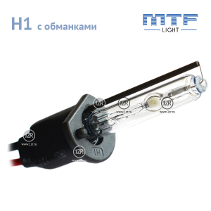 Ксенон MTF-Light 50W с обманкой H1 4300К