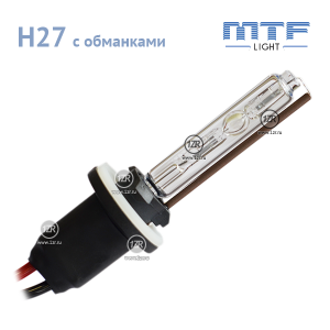 Ксенон MTF-Light 50W с обманкой H27 4300К
