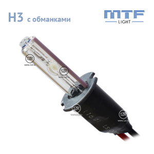Ксенон MTF-Light 50W с обманкой H3 4300К