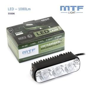 Фара дальнего света MTF-Light LED 1080Lm