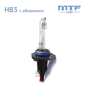 Ксенон MTF-Light 50W с обманкой HB3 4300К