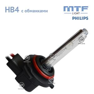 Ксенон MTF-Light 50W с обманкой и колбами Philips HB4 (4300K)