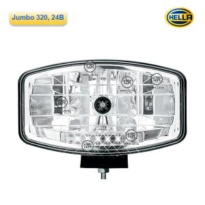 Фара дальнего света Hella Jumbo 320 24V Xenon (D2S)