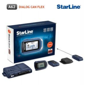 Автосигнализация StarLine A62 Dialog CAN Flex