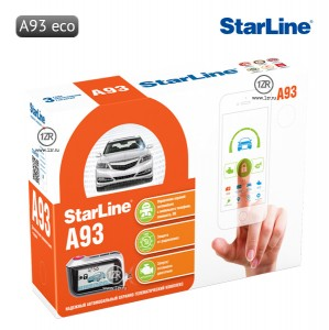 Автосигнализация StarLine A93 ECO