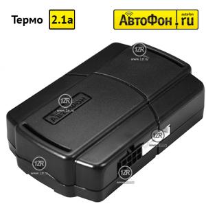 Управление предпусковым подогревателем АвтоФон Термо v2.1a