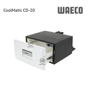 Компрессорный автохолодильник Waeco CoolMatic CD-20 (белый цвет)