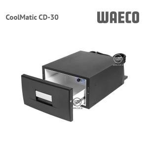 Компрессорный автохолодильник Waeco CoolMatic CD-30 (чёрный цвет)
