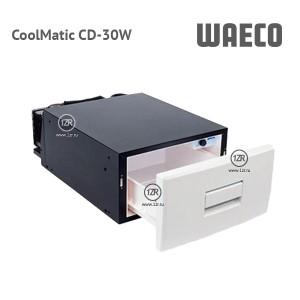 Компрессорный автохолодильник Waeco CoolMatic CD-30W (белый цвет)