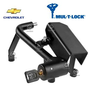 Замок КПП MUL-T-LOCK 2168/A для Opel Antara, Chevrolet Captiva (2012-), механика 6