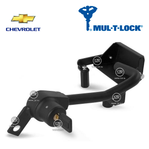 Замок КПП MUL-T-LOCK 2117 для Chevrolet Spark (2010-), механика 5
