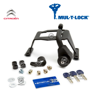 Замок КПП MUL-T-LOCK 1348 для Citroen C3, C3 Picasso (2009-), механика 5