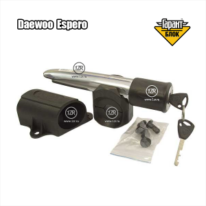 Замок на рулевой вал Гарант Блок Люкс 305.E/f 1 для Daewoo Espero (1992-1999)