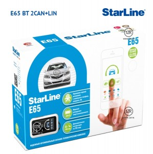 Автосигнализация StarLine E65 BT 2CAN+2LIN
