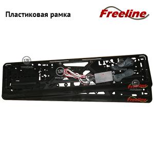 Рамка Freeline антивандальные сенсорные пластиковые рамки на номер