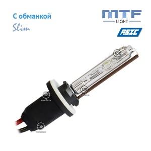 Ксенон MTF-Light Slim Line с доп. проводом и обманками H27 6000K