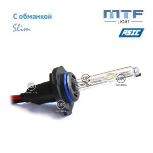 Ксенон MTF-Light Slim Line с доп. проводом и обманками HB3/9005 6000K