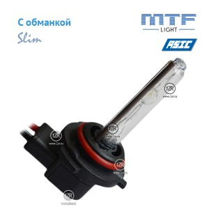 Ксенон MTF-Light Slim Line с доп. проводом и обманками HB4/9006 6000K