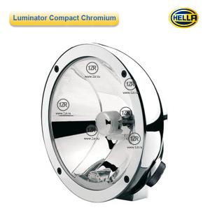 Фара дальнего света Hella Luminator Compact Chromium FF