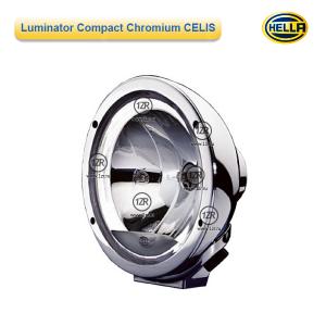 Фара дальнего света Hella Luminator Compact Chromium CELIS FF, с габаритным огнем