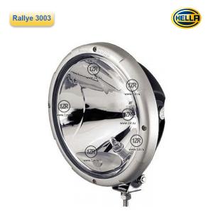 Фара дальнего света Hella Rallye 3003, с габаритным огнем, прозрачная (Ref. 50)