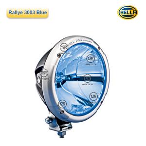 Фара дальнего света Hella Rallye 3003 Blue, с габаритным огнем (Ref. 50)