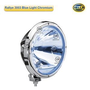 Фара дальнего света Hella Rallye 3003 FF Blue Light Chrome, с габаритным огнем (Ref. 37.5)