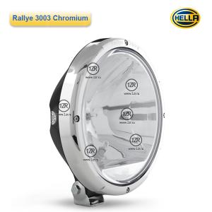 Фара дальнего света Hella Rallye 3003 Chrome, с габаритным огнем (Ref. 50)